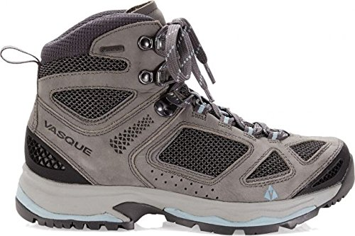 Vasque Women's Breeze Iii Gtx Hiking Boots, Gargoyle/Stone Blue 8 ()