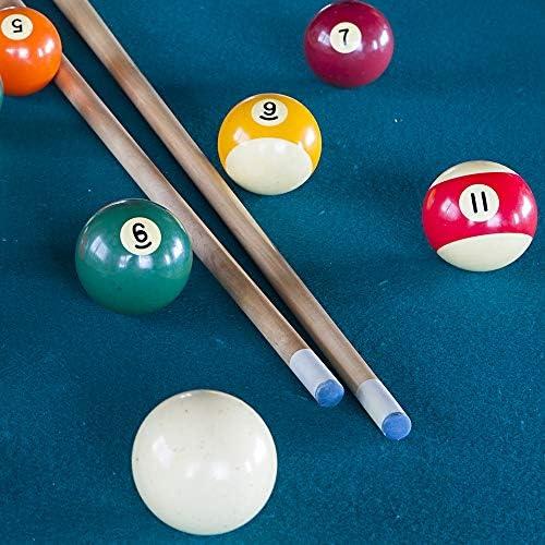 KyStudio 20 Pieces Durable Pool Cue Tips Classic Delicate Texture Billiards Pool Cue Tips Snooker Cue Stick Tips Billiard Rod Accessories