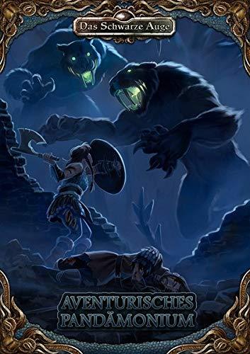 the cover image for the Aventurisches Pandämonium book