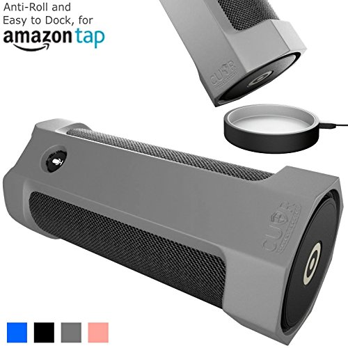 Amazon Tap Case Sling Cover Easily Dock on Your USB Charger Cradle Base Now With The Best Bottomless Silicone Design by CUVR