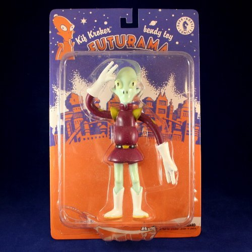 KIF KROKER Bendy Futurama Action Figure from Dark Horse Comics -