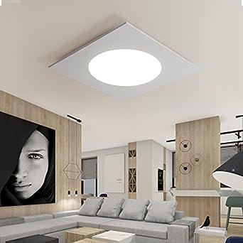Yposion kreative Wohnzimmer Decke quadratisch led ...