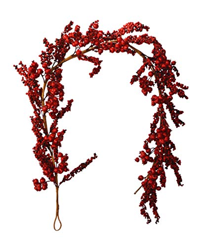 Oval Berry Wreath - 4