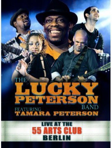DVD : Lucky Peterson - Live At The 55 Arts Club Berlin (With CD, 5PC)