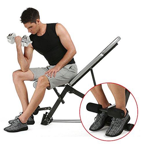 bench adjustable sit incline