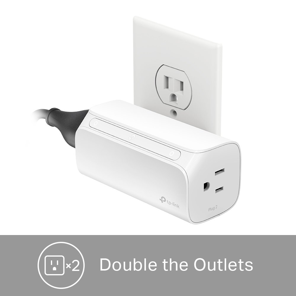 TP-Link Kasa 2-Outlet Smart Plug