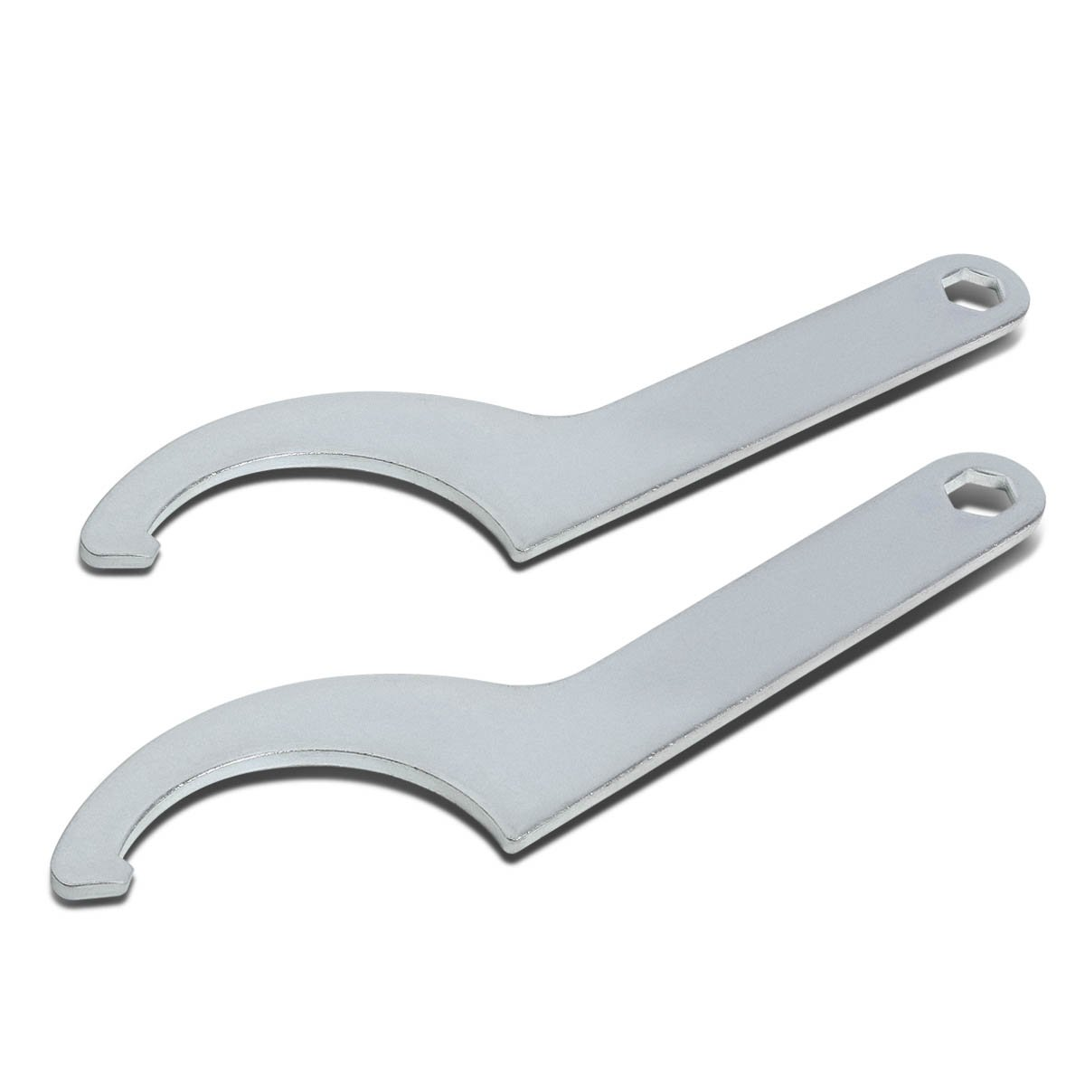 3'' Stainless Steel Coilover Adjustment Wrench Damper Shock Spring Spanner Tool (Pack of 2)
