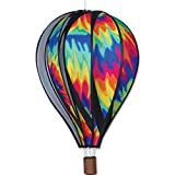 hot air balloon wind spinners - Hot Air Balloon 22 In. - Tie Dye