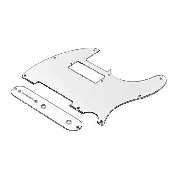 Amazon Com Muslady Mirror Acrylic Pickguard Set With Control Plate