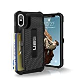 urban armor gear iphone 4 - UAG iPhone X Trooper Feather-Light Rugged Card Case [BLACK] Military Drop Tested iPhone Case