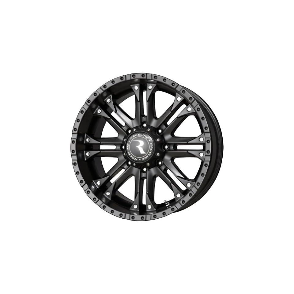 Raceline Octane Matte Black Wheel (20x9/6x139.7mm)
