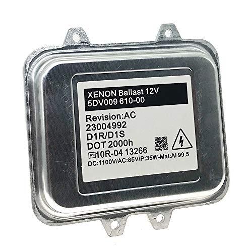 5DV 009 610-00 Xenon HID Headlight Ballast Control Unit D1S D1R for BMW X5M X6 X6M Replace OE# 5DV009610-00 5DV00961000 5DV 009 720-00 63117248050 ()