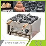 Korea style Electric Funny Shit shape waffle maker machine