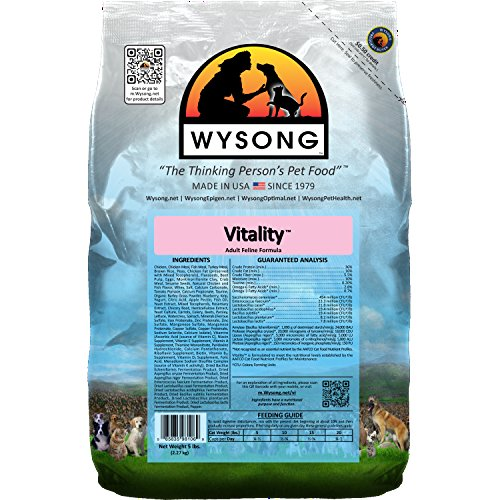 Wysong Vitality Adult Feline Formula Dry Diet Cat Food - 5 Pound Bag