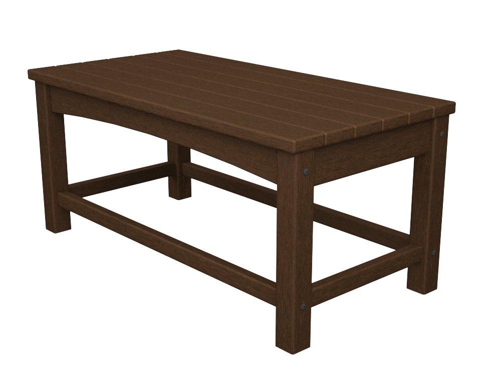 Amazon.com : POLYWOOD CLT1836WH Club Coffee Table, White : Patio Coffee  Tables : Patio, Lawn U0026 Garden