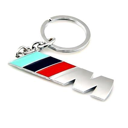 keng Llavero de Metal para Coche M M3 M5 Llavero de aleación Llavero Llavero para BMW Accesorio Clave, M, Medium