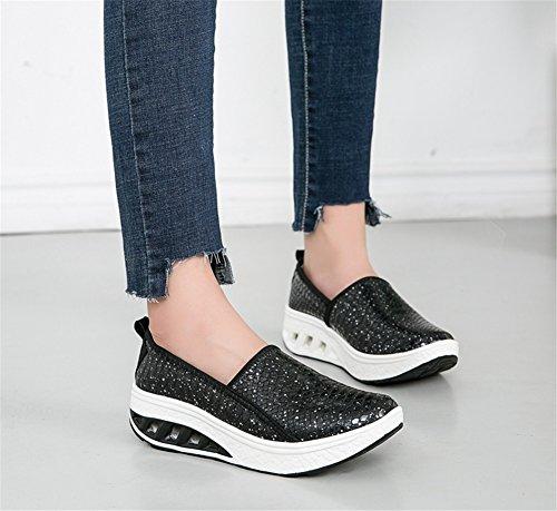 Ladies scarpe Scarpe Shake da Bocca e B Artificiale donna Traspirante casual SHINIK estate Scarpe PU Superficiale Nuove autunno Primavera 71qpwxv