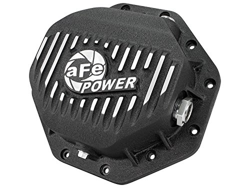 [aFe Power 46-70272 Dodge Ram Rear Differential Cover (Black; Pro Series)] (1985 Dodge Power Ram)