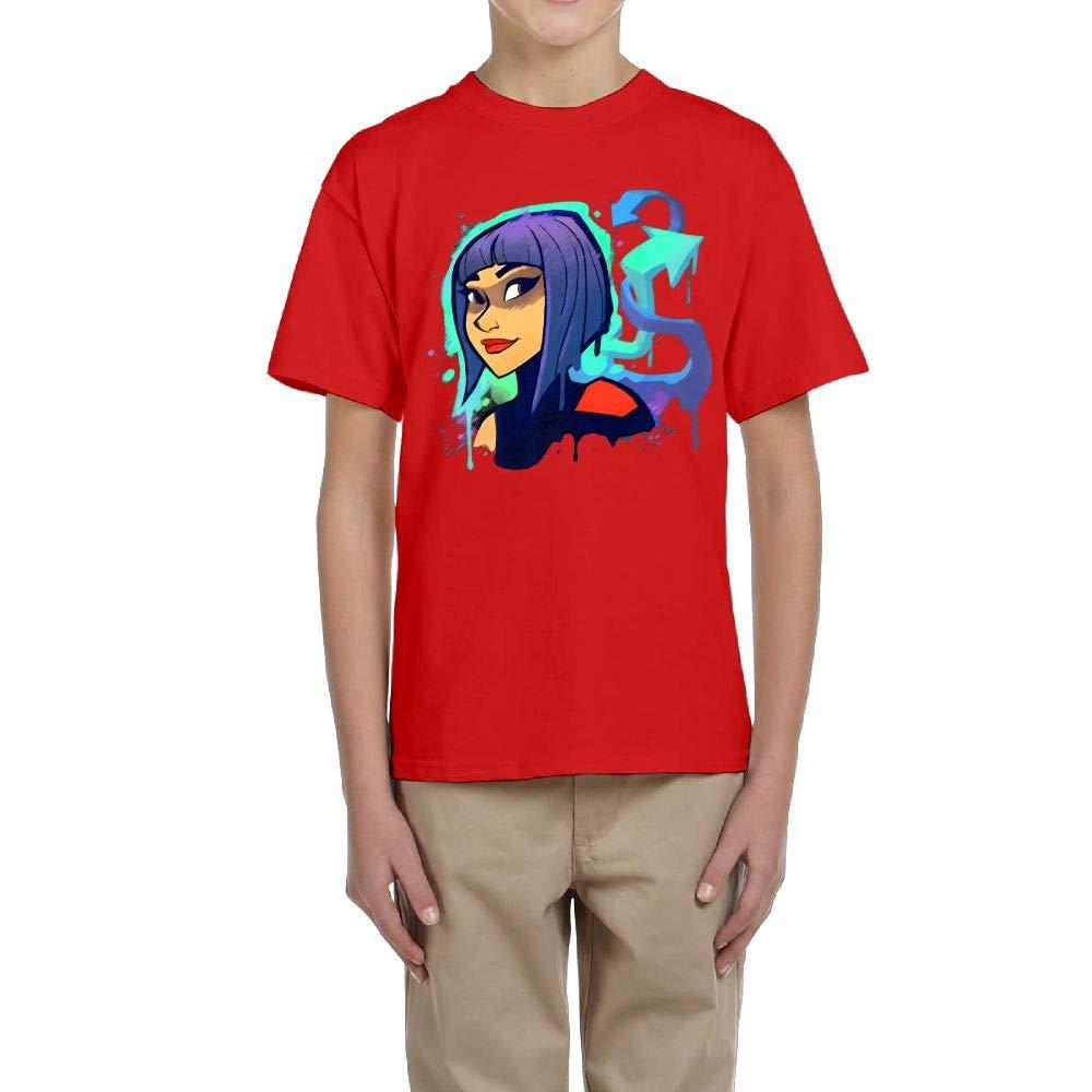Aharyoa Kids Fortnite Shadow Ops Painting Art Teens Youth Creative Summer Short Sleeve T Shirt Girls Boys Funny Tee