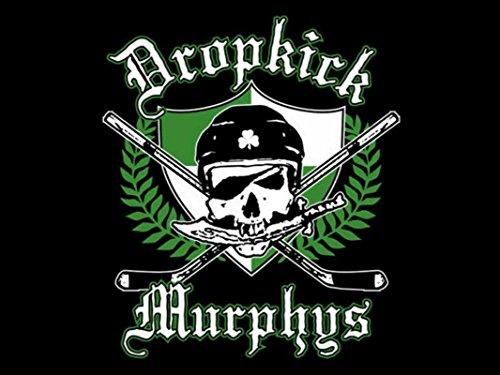 Get Motivation The Dropkick Murphys American Celtic punk band Ken Casey Alexander Barr James Lynch Jeff DaRosa 12 x 18 inch ()