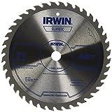 IRWIN Tools Classic Series Steel Corded Circular Saw Blade, 7 1/4-inch, 40T (15230ZR)