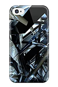 Tina Chewning's Shop Hot Hot Fashion Design Case Cover For Iphone 4/4s Protective Case (fractal)