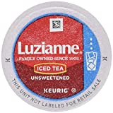 keurig k cups pitcher - Luzianne Iced Tea, Unsweetened Single Serve Tea Cups, 12 Count