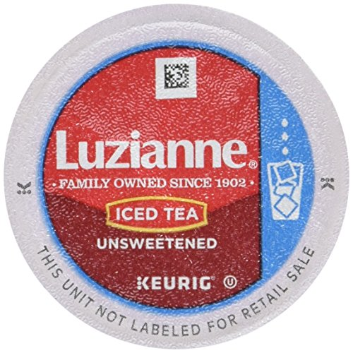 Luzianne Iced Tea, Unsweetened Single Serve Tea Cups, 12 Count