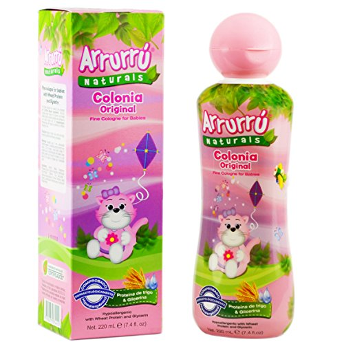 Arrurru Naturals Baby Cologne for Girls / Arrurru Colonia Original Ninas 7.4oz 220 ML