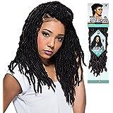 """Bobbi Boss 100% Premium Fiber Hair Nu Locs 14"""" (Color #2)"""