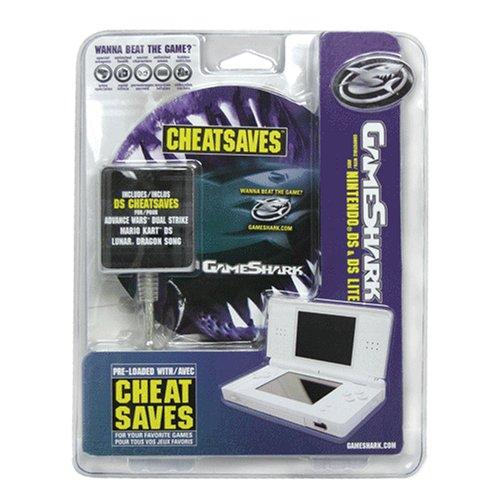 Nintendo DS Gameshark Gamesaves CheatSaves for Nintendo DS and DS Lite