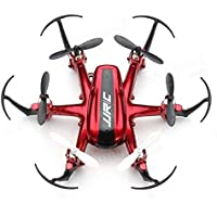 Annong JJRC H20 Nano Hexacopter 2.4G 4CH 6Axis Gyro RC Quadcopter Drone Headless Mode RTF One key Return RC Explorers Red