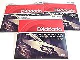 3 Pack | D\'Addario Banjo Strings EJ61 (formerly J61) Medium