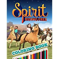 Spirit Riding Free Coloring Book: Fun Coloring Book With Good Images