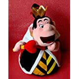 Hard to Find Disney Oversized 16 Inch Plush Alice in Wonderland Queen of Hearts Doll