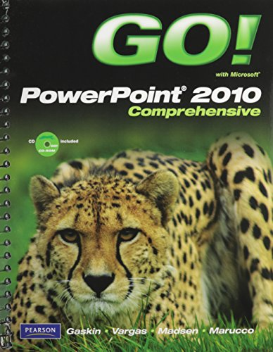 GO! with Microsoft PowerPoint 2010, Comprehensive, and Student - Video Alicia Silver
