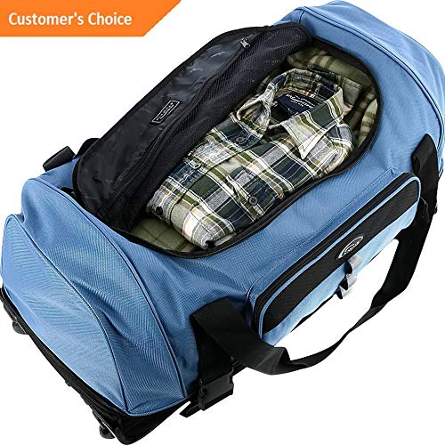 Sandover Drop Bottom Duffel 2 Colors Rolling Duffel NEW 600 Model LGGG