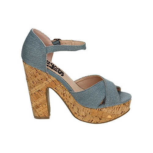 Refresh Sandales Denim Sandales Refresh Femme 1WZn1qrz
