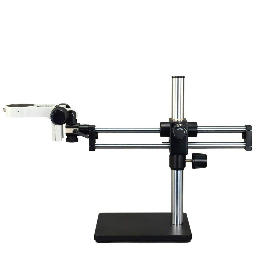 INTBUYING Ball-Bearing Boom Stand for Stereo Microscopes with Focusing Rack by INTBUYING