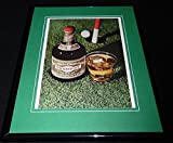 1968 Drambuie Liqueur Framed 11x14 ORIGINAL Vintage Advertisement