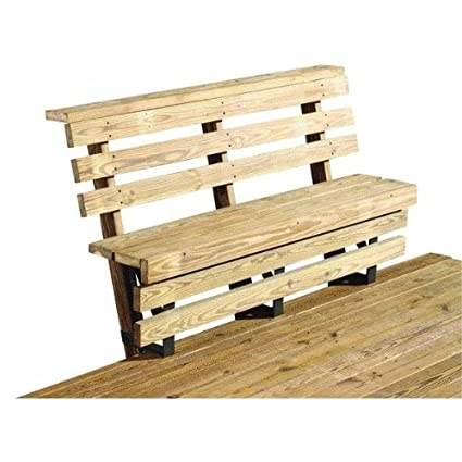 Wondrous Deck Bench Brackets Pabps2019 Chair Design Images Pabps2019Com