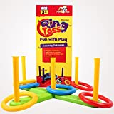 TRIPPLE ESS- Ring Toss game , Kids Toys , Indoor Outdoor Game