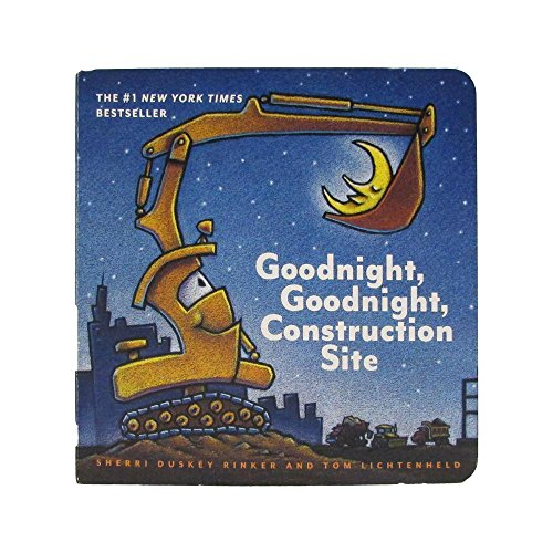 Goodnight Construction Site Gngncs Board Book Childrens Basic Skills Development Toys by Goodnight Construction Site