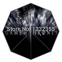 Newest Novelty Items Game Of Thrones Cool Pattern The Sword Theme Umbrella