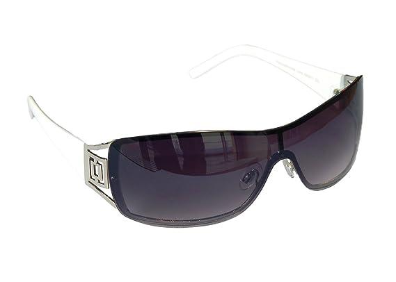 Sonnenbrille Damenbrille Brille Monoglas Moderner Style Damen M 41 (Gold Braun Lila) 7G89azY6N
