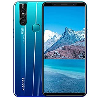 X27Plus 4G Android 9.0 Smartphone, 5.8 inch FHD Display with 4000mAh Battery, 4GB RAM 32GB ROM Cell Phone, 128GB Extension, 8MP+16MP, Dual Sim Dual Camera Mobile Phone