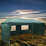 Peach Tree Canopy Wedding Party Tent Heavy Duty Outdoor Gazebo Green (10×20+4walls) Review