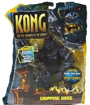 King Kong The 8th Wonder of the World Action Figure Gripping Kong