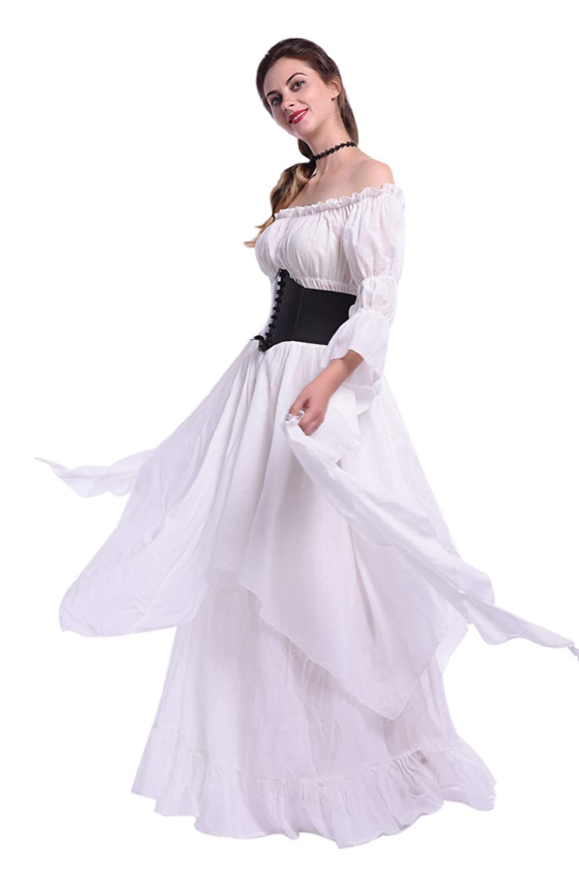 Lemail Womens Gothic Lolita Princess Dress Renaissance Victorian Ball Gown