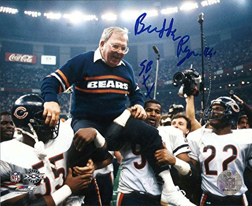 Buddy Ryan Autographed Chicago Bears 8 x 10 Photo